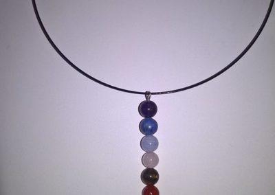 collier 7 chakras