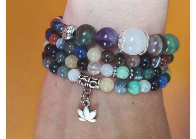 bracelet mala tibétain personnalisé