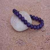 bracelet pierre amethyste extra- bpame